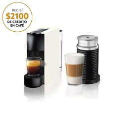 CAFETERA NESPRESSO ESSENZA MINI C BUNDLE WHITE VIRTUAL A3NC30-AR-WH-NE