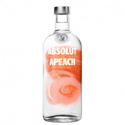 Vodka Absolut apeach 750cc (9579)