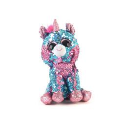 Peluche Ty Animales Lentejuelas Unicornio 14 cm