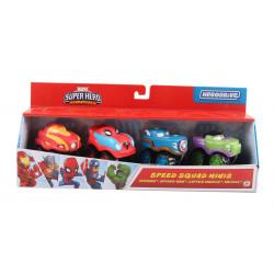 Mini Autitos Marvel Pack x4