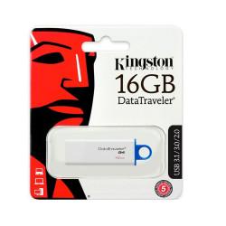 Pendrive 16GB Kingston 3.0 DTIG4 Blanco