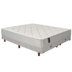 Sommier y Colchon Resortes 303 Extra Firme 160 x 200 cm