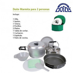 "MARMITA""DOITE""P/2P C/BASE Y PAÑO"