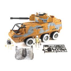 Playset Militar 3 Vehículos
