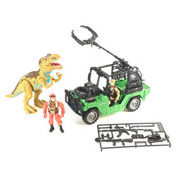 Playset Dinosaurios Jeep