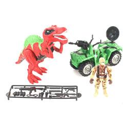 Playset Dinosaurios Cuatriciclo