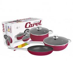 Bateria de cocina 5 pzs Bordo Carol (37233)