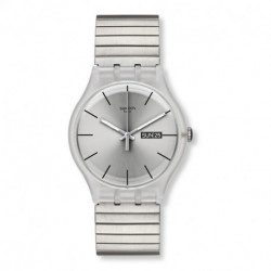 Reloj unisex Resolution Small Swatch (SWSUOK700B)