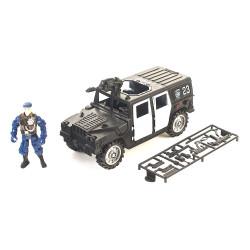 Playset Policía Hummer con Sonido