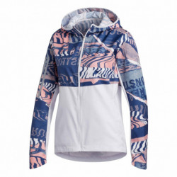 CAMPERA ADIDAS ROMPEVIENTOS OWN THE RUN CITY CLASH MUJER