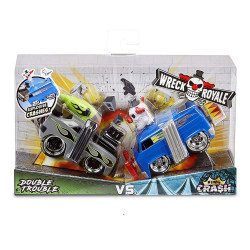 Wreck Royale Pack x2 Double Trouble vs. King Crash