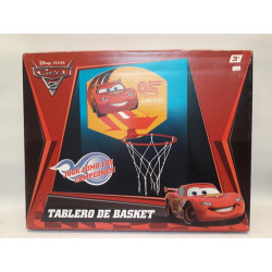 Tablero De Basket 43 X 34 Cm Cars Disney Pixar Moody