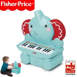 Piano Elefante 32 Key Instrumento Infantil Fisher Price 2460
