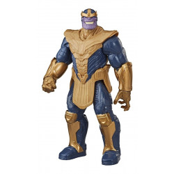 Muñeco Thanos 30 cm Titan Hero Serie Blast Gear Hasbro E7381