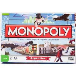 Monopoly Argentina Juego De Mesa Piezas De Metal