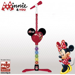Microfono Pie Amplificador Minnie & You Disney REIG (5253)