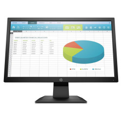 Monitor 20 HP P204 HDMI Negro