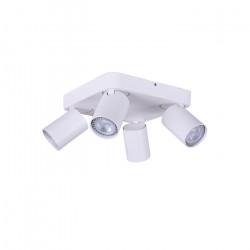 Aplique Katharo 4 Luces Sq Blanco Diseño Leuk