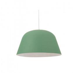 Colgante Nerin Blanco Negro Verde Industrial E27 Leuk