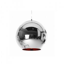 Lamparas Colgantes Moderna Tom Dixon I Plata 1 Luz E27 Leuk