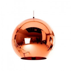 Lampara Colgante Moderna Tom Dixon Iii Cobre E27 Led Esfera Leuk