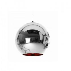Lampara Colgante Moderna Tom Dixon Iii Acero 1 Luz E27 Leuk