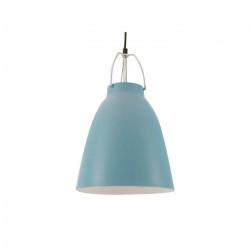 Lampara Led Colgante Pyrena Azul E27 Luces Moderna Leuk