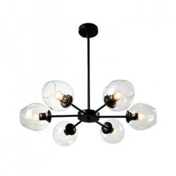 Lamparas Colgantes Araña Opla 6 Luces Living Decoracion E27 Leuk