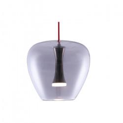 Colgante Syrma Vidrio Diseño 5w Led Integrado Deco Leuk