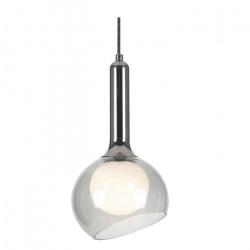 Lampara Colgante Mikro Transparente 5w Led Integrado Leuk