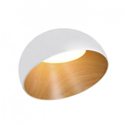 Colgante Stravo Blanco Aluminio 25w Calido Iluminacion Led Leuk