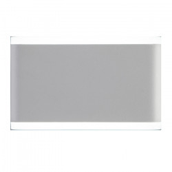 Aplique Rectangular Orthog 1 Exterior Led Blanco 6w Cuotas Leuk