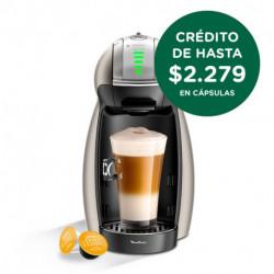 Cafetera Dolce Gusto Genio 2 Titanium Moulinex (PV160T58)