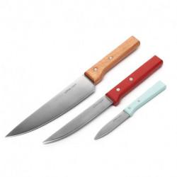 Set de 3 cuchillos Narda Lepes