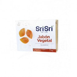 Jabon ayurvedico vegetal gilcerina sri sri tattva (BJ-AGGY)
