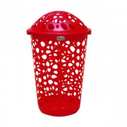 Canasto para Ropa Sucia Rojo - Colombraro