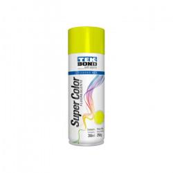 Pintura Tek Bond en aerosol fluorescente 350ml amarillo