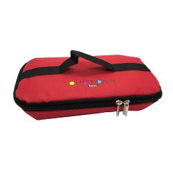 Fuente con tapa y bolso termico transportador 2,2L