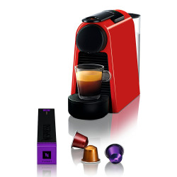 Cafetera Expresso Nespresso Essenza Mini Rojo D30-Ar-Re-Ne