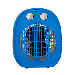 Caloventor 1800W Indeplas IC-01 Azul Con Blanco