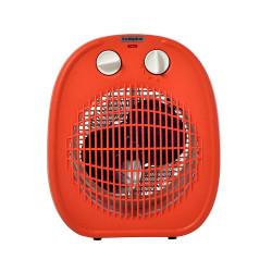 Caloventor 1800W Indeplas IC-01 Naranja Con Blanco