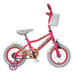 Bicicleta Rodado 12 Tomaselli Mini Bici Rosa