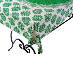 Mantel Hindu Green Mandala