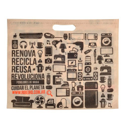 Ecobolsa Ribeiro 35 X 30 Cm