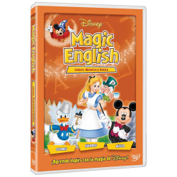 Dvd Disney Magic English Colores, Números y Música