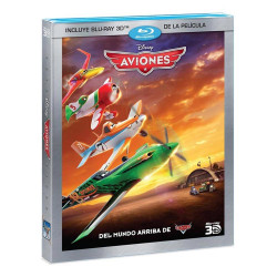 Bluray Disney Aviones 3d