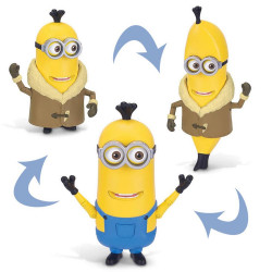 Minions Kevin Artico-Banana Muñeco Juguete Universal Art 20060