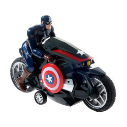 Juguete Avengers 7117 Capitan America Bike