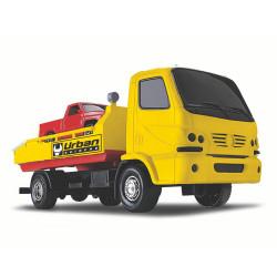 Juguete Roma 1430 Camion Remolque Urbano Amarillo