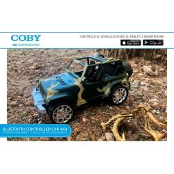 Jeep Camuflado Vehículo 4x4 Bluetooth Coby
